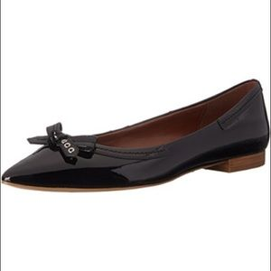 Cole Haan Alice Bow Skimmer Pointed Toe Flats